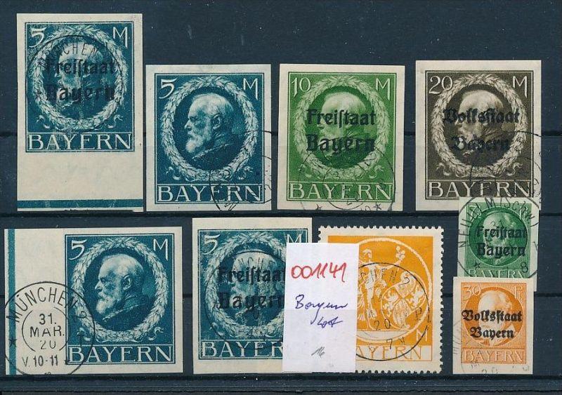 Bayern  Lot- diverse.... ( oo1141 ) -siehe Bild