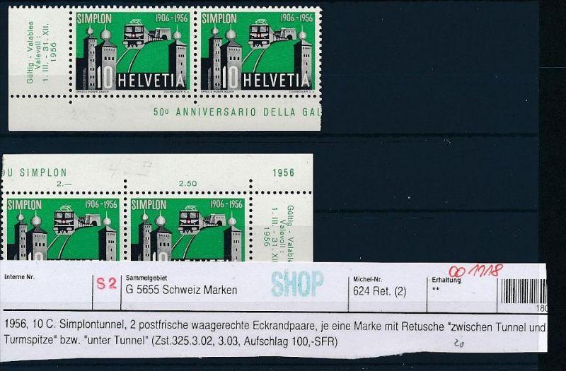 Schweiz Retuschen  Lot diverse ( oo1118 ) -siehe Bild