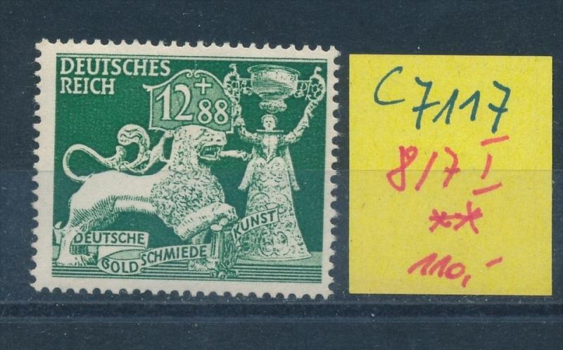 D.-Reich Nr. 817 I    **(c7117) siehe scan