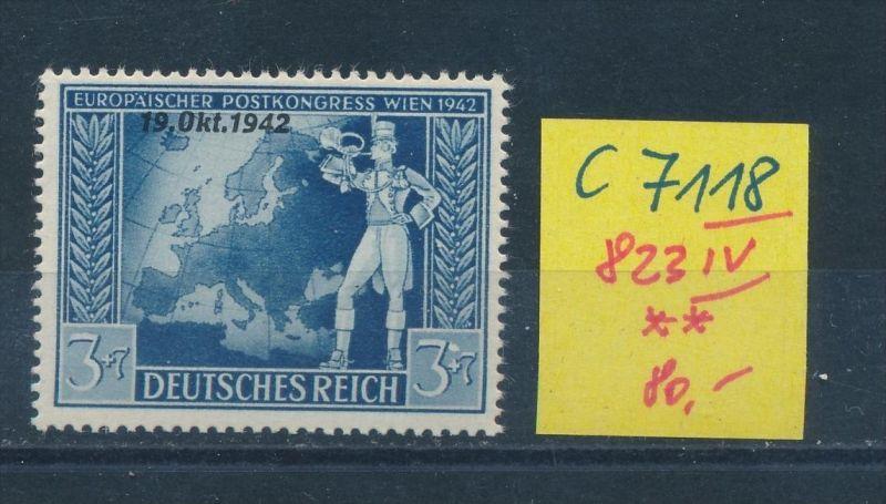 D.-Reich Nr. 823 IV    **(c7118 ) siehe scan