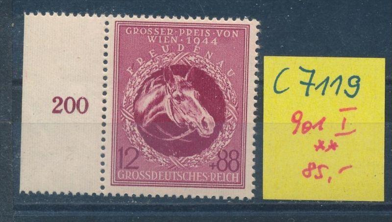 D.-Reich Nr. 901 I   **(c7119 ) siehe scan