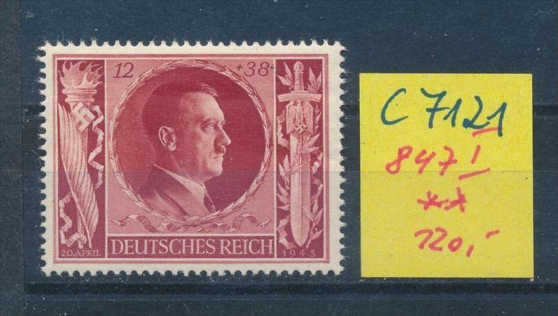 D.-Reich Nr. 847 I   **(c7121 ) siehe scan
