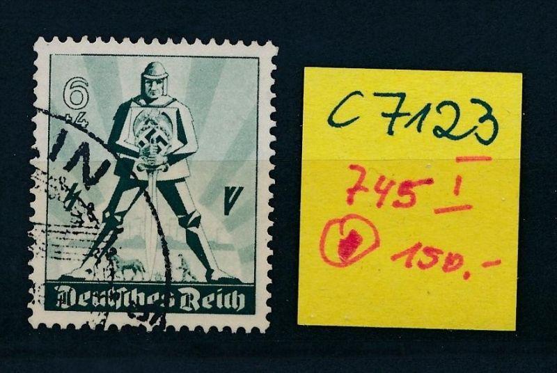 D.-Reich Nr. 745  I  o (c7123 ) siehe scan