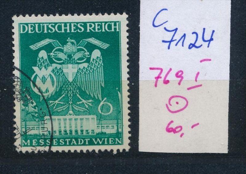 D.-Reich Nr. 769  I  o (c7124 ) siehe scan