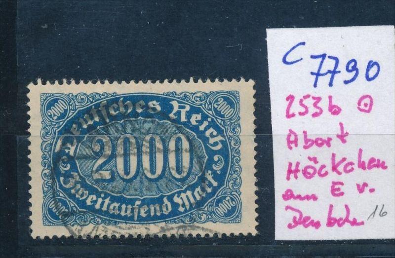 D.-Reich Nr. 253 b  F o  (c7790  ) siehe scan
