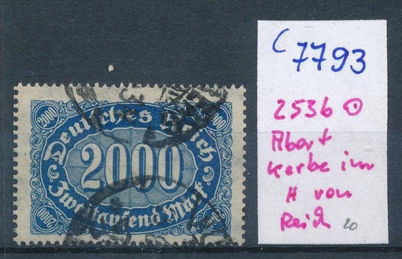 D.-Reich Nr. 253b  F o  (c7793  ) siehe scan
