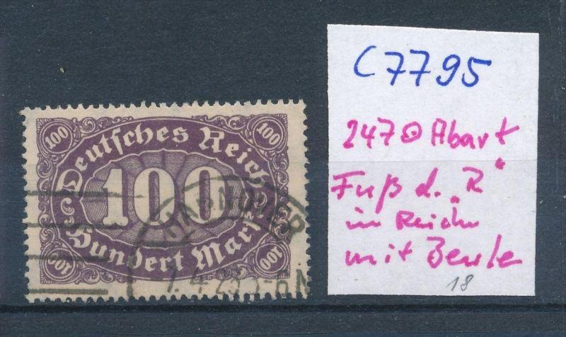 D.-Reich Nr. 247  F o  (c7795  ) siehe scan