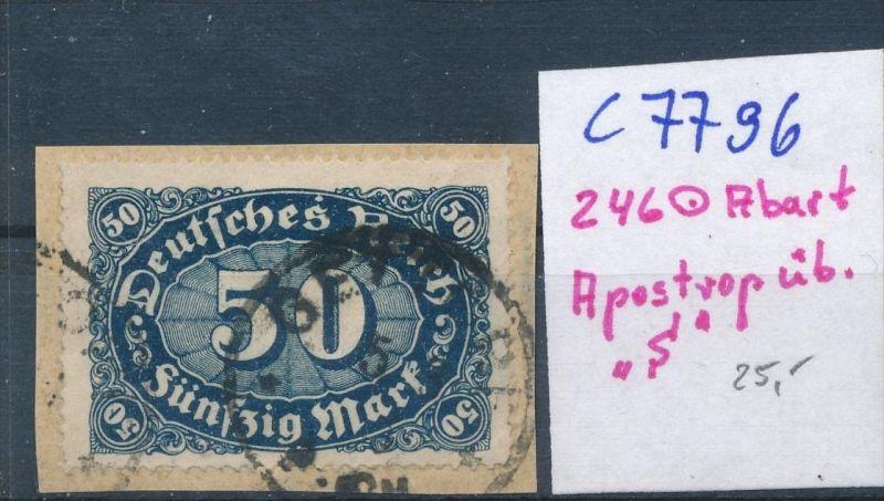 D.-Reich Nr. 246  F o  (c7796  ) siehe scan