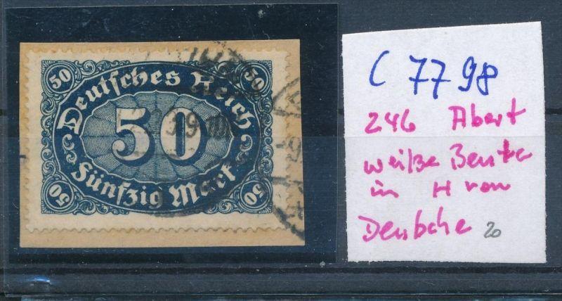 D.-Reich Nr. 246  F o  (c7798  ) siehe scan