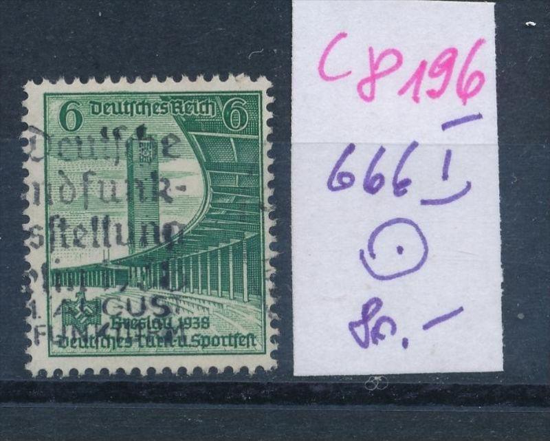 D.-Reich Nr. 666  I o  (c8196  ) siehe scan