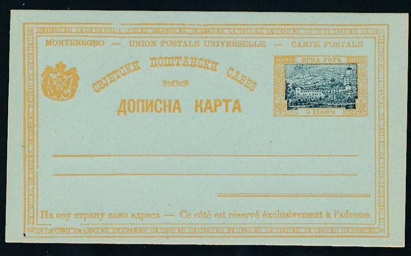 Montenegro   alte GS.   .(t5014  ) siehe scan