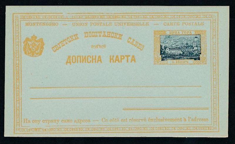 Montenegro   alte GS.   .(t5013  ) siehe scan