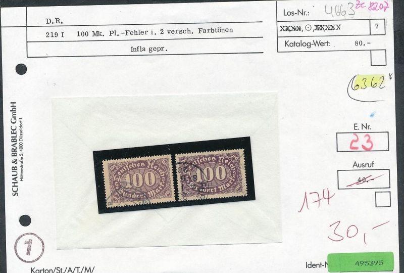 Infla Abart Los siehe Beschreibung o   (ze8207  ) siehe scan