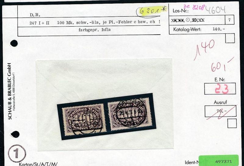 Infla Abart Los siehe Beschreibung o   (ze8208  ) siehe scan