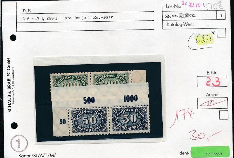 Infla Abart Los siehe Beschreibung o   (ze8210  ) siehe scan