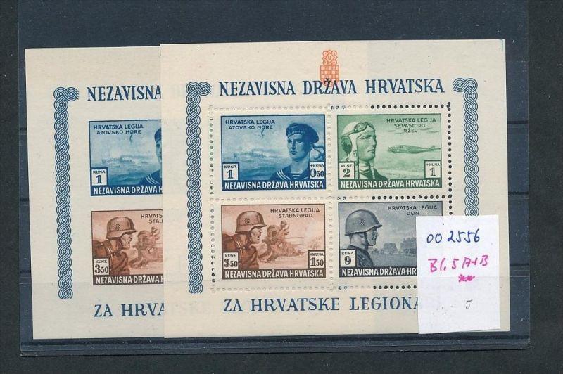 Kroatien   Lot  ..... (oo2556  ) siehe scan