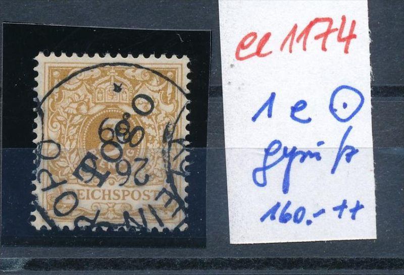 Togo Nr. 1 e o  geprüft -netter Stempel  (ee1174  )  siehe scan vergrößert