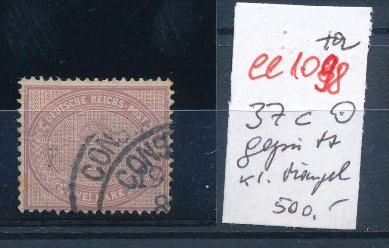 DP.Türkei  Nr. 37 c geprüft     o  (ee1098  )  .....-siehe scan vergrößert
