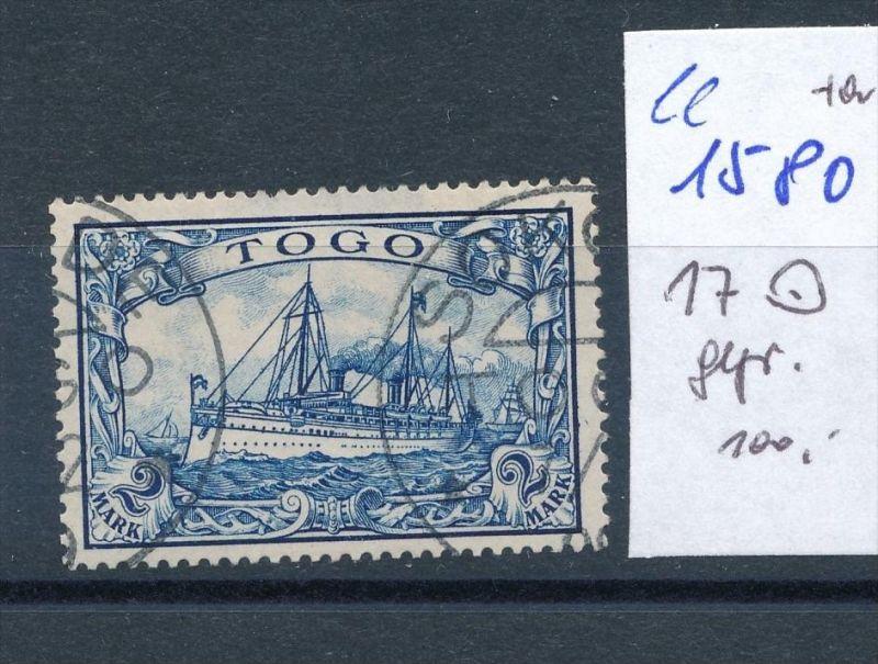 Togo   Nr.  17   o  (ee1580  )  .....-siehe scan vergrößert
