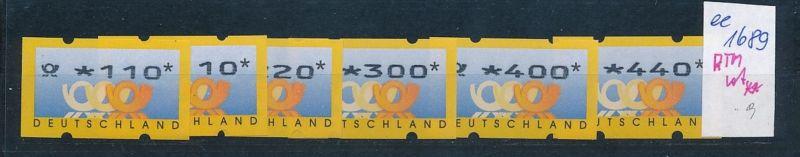 Bund Automaten Serie   **  (ee1689  )  .....-siehe scan vergrößert