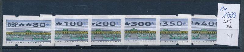 Bund Automaten Serie   **  (ee1693  )  .....-siehe scan vergrößert