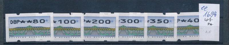 Bund Automaten Serie   **  (ee1694  )  .....-siehe scan vergrößert