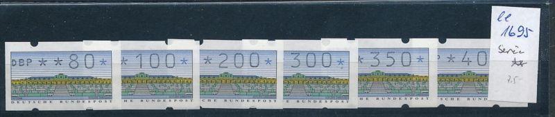 Bund Automaten Serie   **  (ee1695  )  .....-siehe scan vergrößert