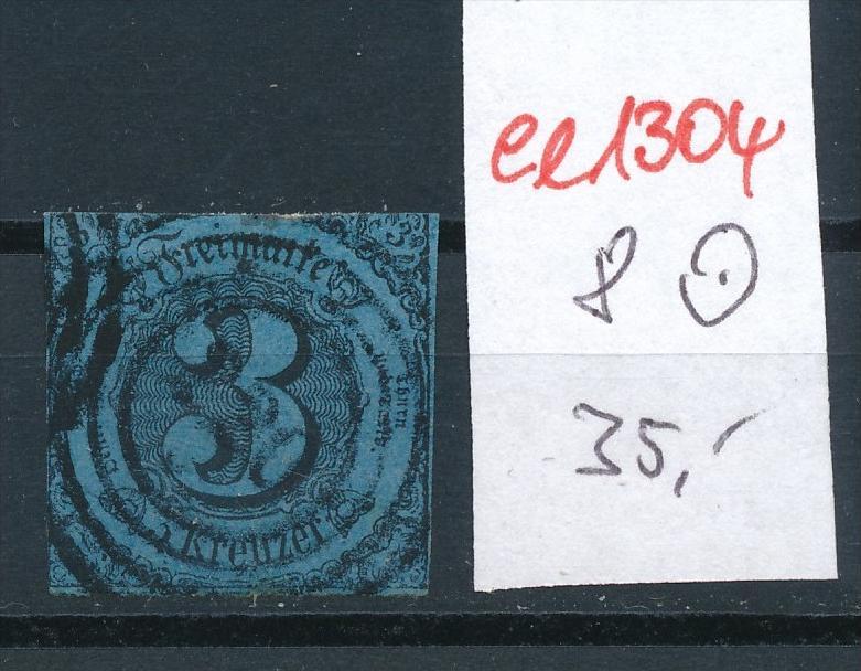 Thurn+ Taxis Nr. 8  o   (ee1304  ) siehe scan
