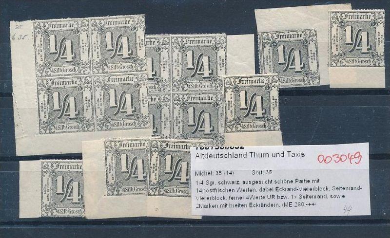 Thurn +Taxis encro Lot   (oo3049  ) siehe scan