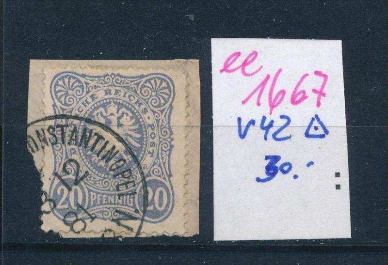 D.-Post Türkei  Nr. V42    (ee1667  ) siehe scan