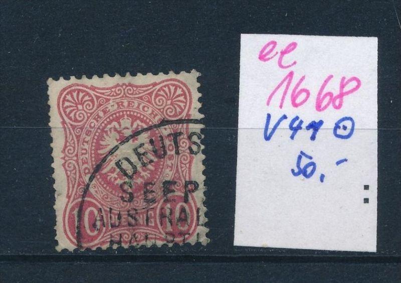 D.-Post Türkei  Nr. V41    (ee1668  ) siehe scan