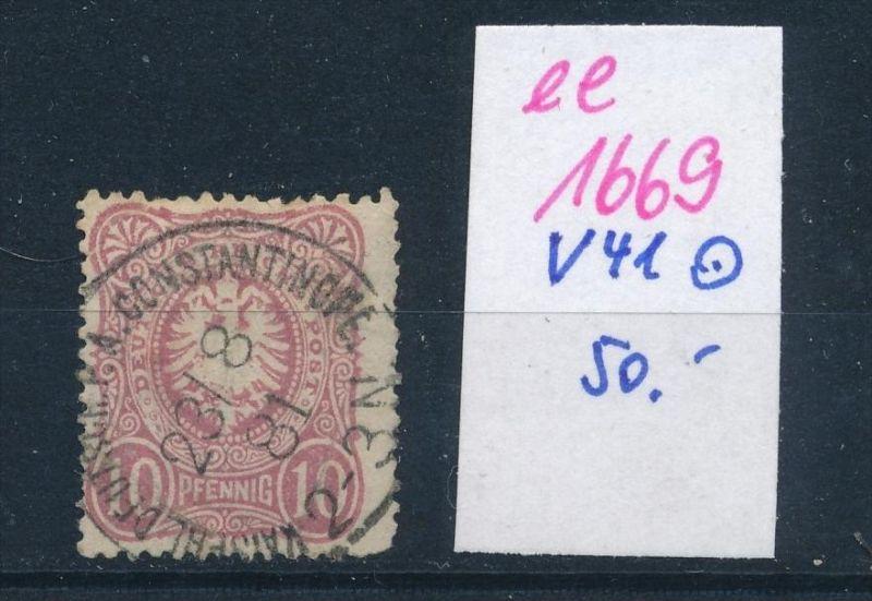 D.-Post Türkei  Nr. V41    (ee1669  ) siehe scan