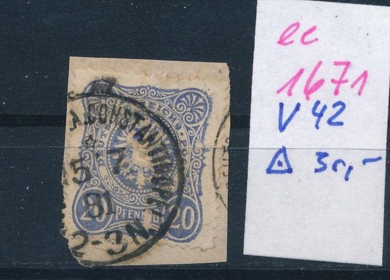 D.-Post Türkei  Nr. V 42    (ee1671  ) siehe scan