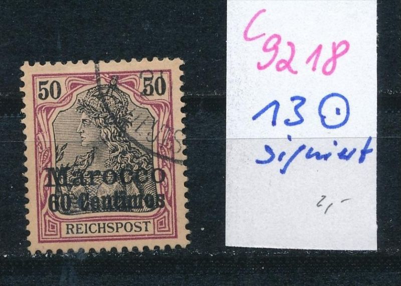 Marokko  Nr.13   o  (c9218  ) siehe scan  vergrößert