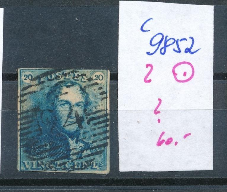 Belgien Nr. 2  o   (c9852  ) siehe scan  vergrößert