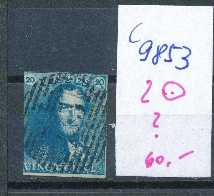 Belgien Nr. 2  o   (c9853  ) siehe scan  vergrößert