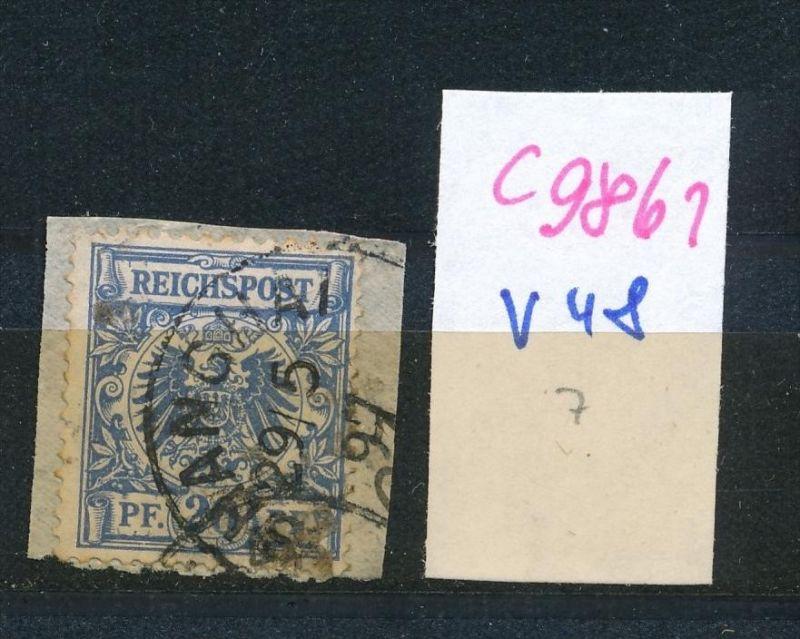 D.-Post China  Nr. V48  o (c9861  ) siehe scan  vergrößert