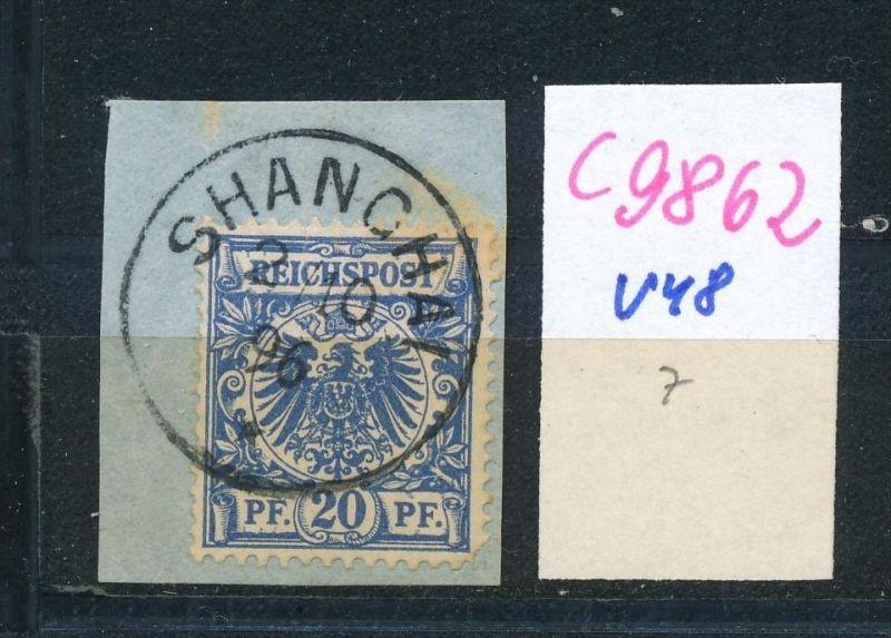 D.-Post China  Nr. V48  o (c9862  ) siehe scan  vergrößert
