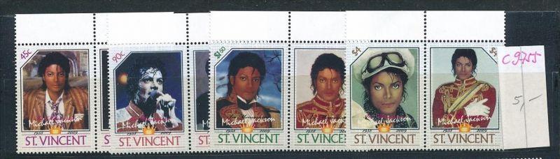 Micael Jackson -Musik St.Vincent   **(c9755  ) siehe scan  vergrößert