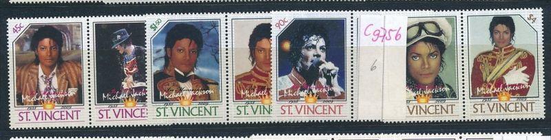 Micael Jackson -Musik St.Vincent   **(c9756  ) siehe scan  vergrößert