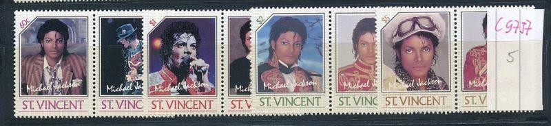 Micael Jackson -Musik St.Vincent   **(c9757  ) siehe scan  vergrößert