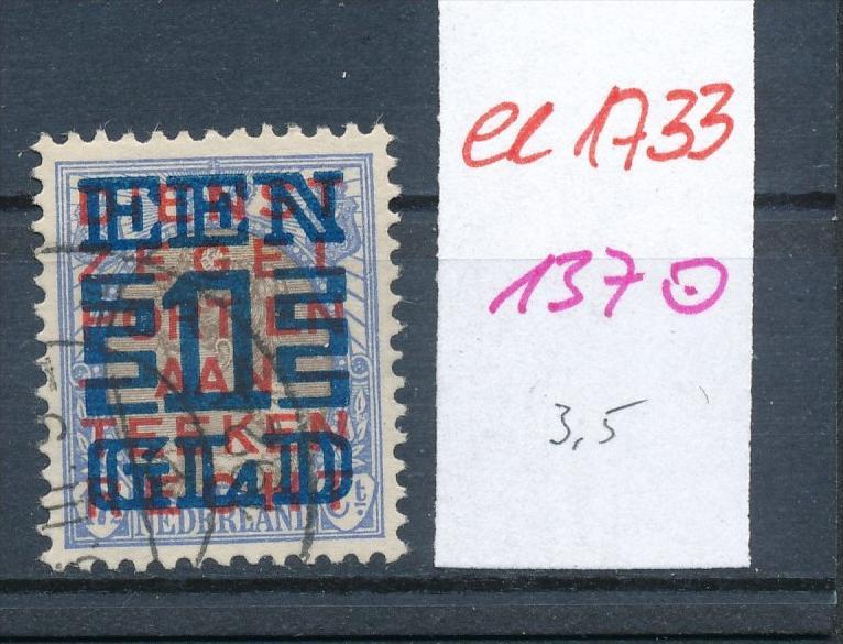 NL.- Nr.  137 o  (ee1733  ) siehe scan