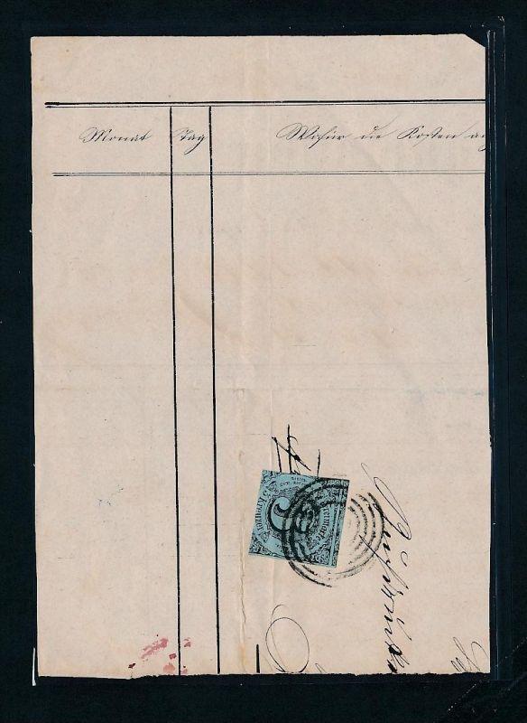 Thurn + Taxis  Briefstück... (ze8615  ) siehe scan