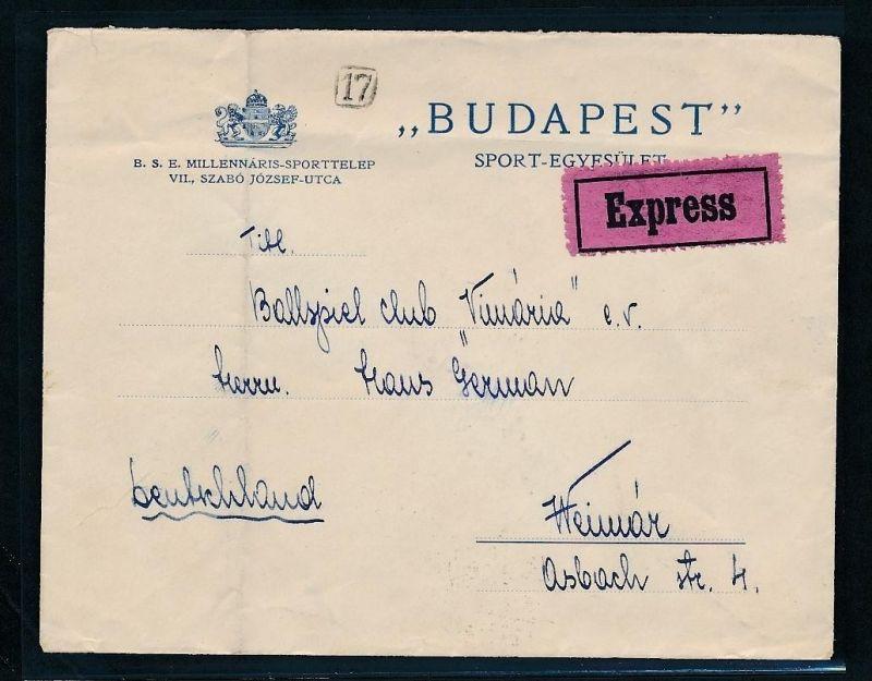Ungarn Beleg  ....   (ze3977   ) siehe Bild !