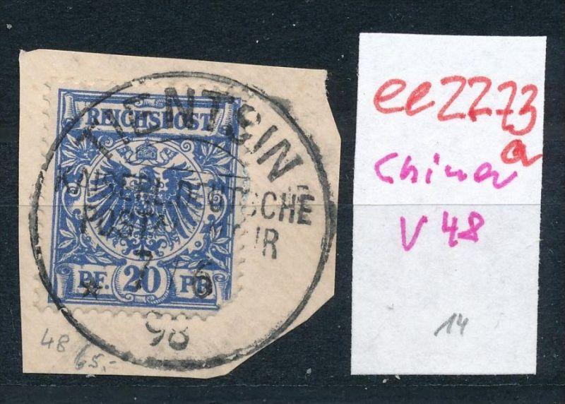 D.-P. China   V48  o  (ee2273 a ) siehe scan
