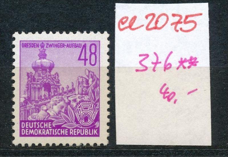 DDR Nr.  376  **    (ee2075  ) siehe scan