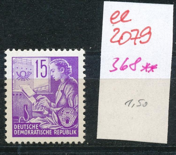 DDR Nr.  368  **    (ee2079  ) siehe scan