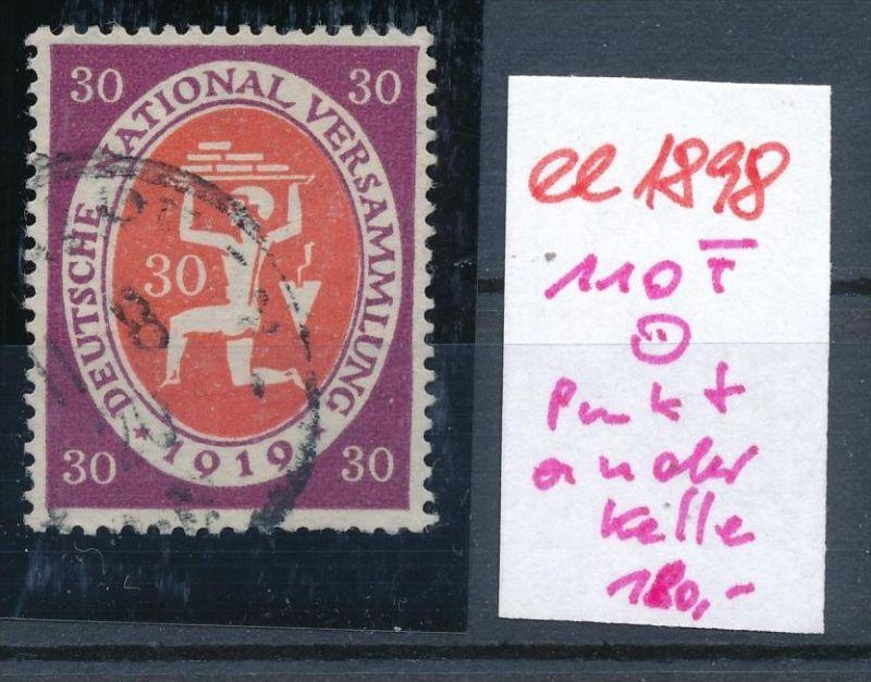 D.-Reich  Nr. 110 F   o   (ee1898  ) siehe scan