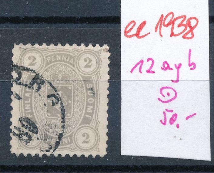 Finnland Nr. 12 yab     o   (ee1938  ) siehe scan