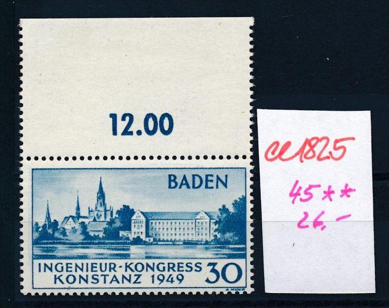 Baden  Nr. 45  **   (ee1825 ) siehe scan